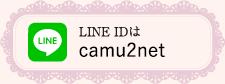 LINE IDはcamunet